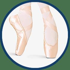 Pointe shoe by Bloch