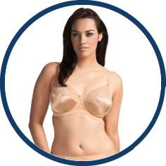Elomi plus sized nude bra