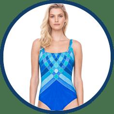 Gottex one piece designer swimsuit