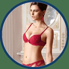 Lise Charmel red bra