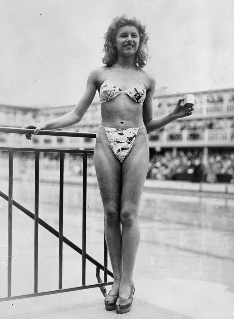 Women's swimsuit the bikini