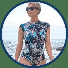 Full coverage bathing suit by Penbroke