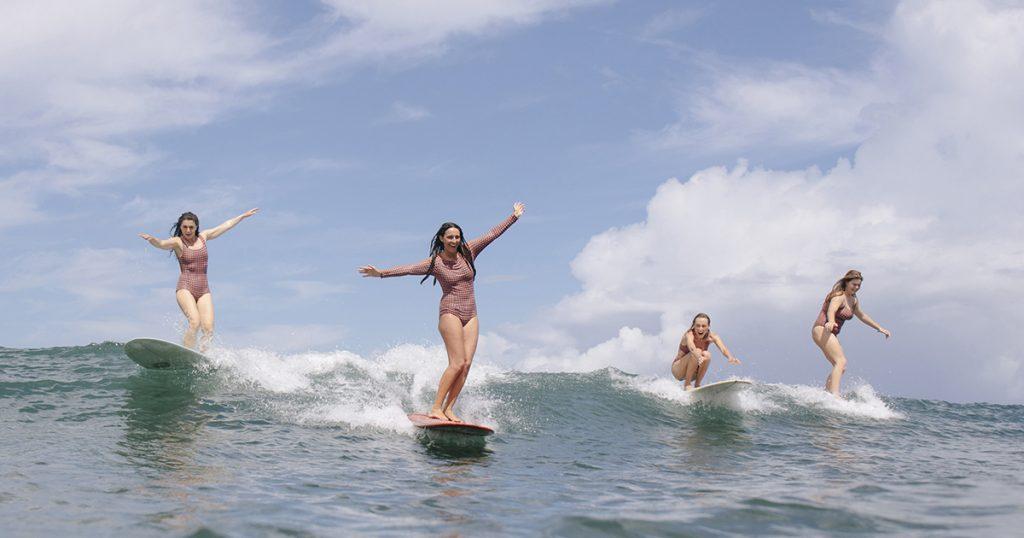 SEEA surf inspired swimwear