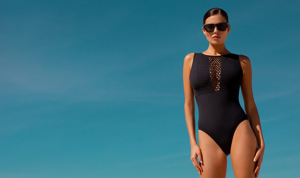 Sophisticated designer swimwear by Shan